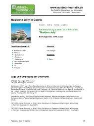 Ferienwohnung für 4 Personen in Caorle - Outdoor-Touristik