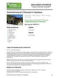Ferienwohnung für 4 Personen in Teyssieres - Outdoor-Touristik
