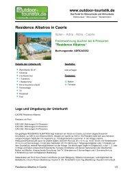 Ferienwohnung für 6 Personen in Caorle - Outdoor-Touristik