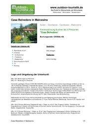 Ferienwohnung für 4 Personen in Malcesine - Outdoor-Touristik