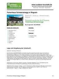 Ferienwohnung für 6 Personen in Wagrain - Outdoor-Touristik