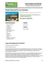 Ferienwohnung für 10 Personen in La Tzoumaz - Outdoor-Touristik