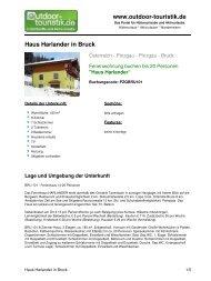 Ferienwohnung für 20 Personen in Bruck - Outdoor-Touristik