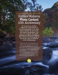 Outdoor Alabama Photo Contest 10th Anniversary