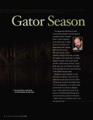 Gator Season - Alabama Department of Conservation and Natural ...