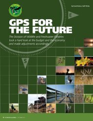 GPS FOR THE FUTURE - Alabama Department of Conservation and ...
