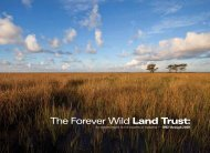 The Forever Wild Land Trust - Alabama Department of Conservation ...