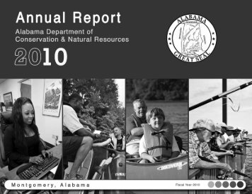 2009-2010 Annual Report - Alabama Department of Conservation ...