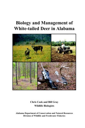 Biology And Management Of White-tailed Deer In Alabama