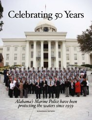Celebrating 50 Years - Alabama Department of Conservation and ...