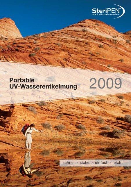 Datenblatt SteriPEN UV-Wasserfilter (Pdf) - Wasserhaus