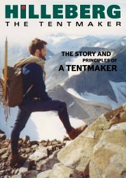 HILLEBERG The Story and Principles of a Tentmaker