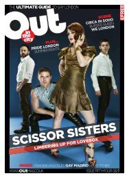 SCISSOR SISTERS - Out In The City