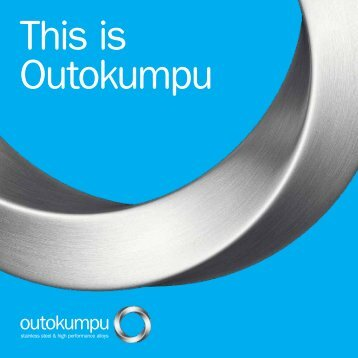"""Download """"This is Outokumpu"""" brochure"""