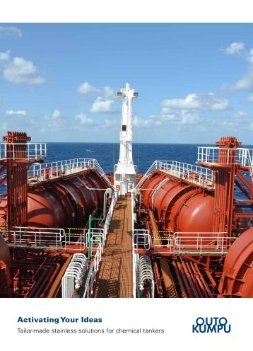 Stainless for Chemical Tankers - Brochure - Outokumpu