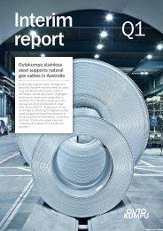 interim report - Outokumpu