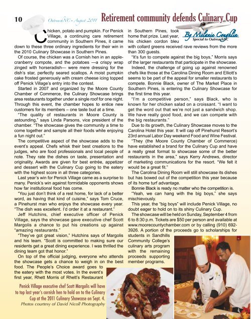 August 2011 - OutreachNC Magazine