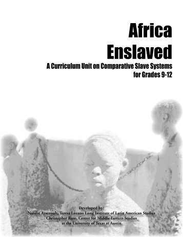 Africa Enslaved (full unit) - Outreach World