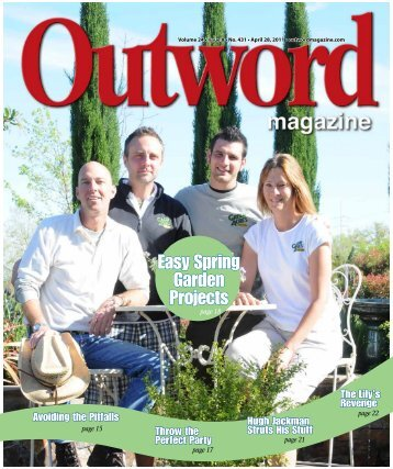 Easy Spring Garden Projects - Outword Magazine
