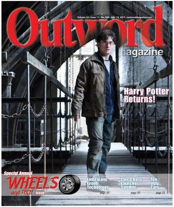 Harry Potter Returns! - Outword Magazine