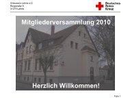 TOP 9 - Ortsverein Lehrte - DRK