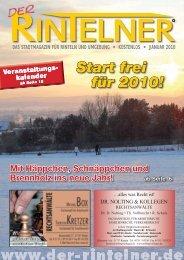 Start frei für 2010! - Der Rintelner