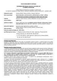 Oznámení-záměr na pronájem bytu s váznoucím dluhem - Ostrava-JIH