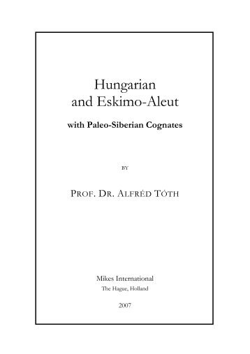 Hungarian and Eskimo-Aleut
