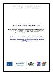 kvalifikační dokumentace - Ostrava-JIH