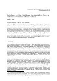 On the Duality of Global Finite Element Discretization Error-Control ...