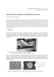 On the Multi Scale Modeling of Textile Reinforced Concrete