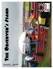 front cover_pg 3.qxp - The Ohio Valley Region of the SCCA