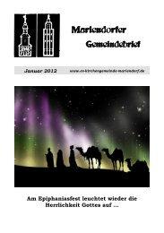 Familienreise vom 27. April bis 1. Mai 2012 - Evangelische ...
