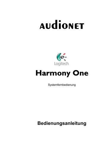 4 Einrichtung der Harmony One - Audionet