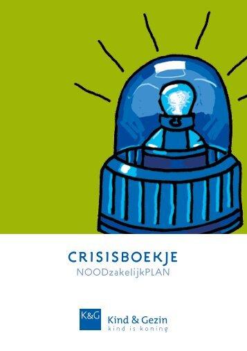 crisisboekje - Kind en Gezin