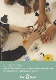 Brochure IKG sector - Kind en Gezin