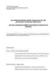 An integrated Public Health Programme for the ... - Kind en Gezin