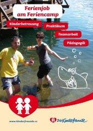 Folder für BewerberInnen - Kinderfreunde Oberösterreich