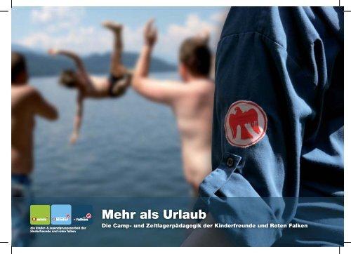 Mehr als Urlaub - Die Camp - Kinderfreunde Oberösterreich