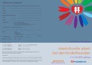 Folder Gemeinsam-Tagung