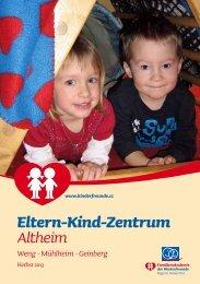 Programm EKiZ Altheim - Kinderfreunde Oberösterreich