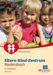 Programm EKiZ Riedersbach - Kinderfreunde Oberösterreich