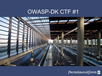OWASP-DK CTF #1