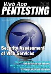 Web services and testing - owasp