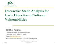 Interactive Static Analysis for Early Detection of Software ... - owasp