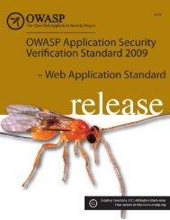ASVS 2009 Web Application Standard - owasp