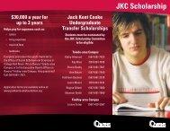 JKC Scholarship - Owens Community College