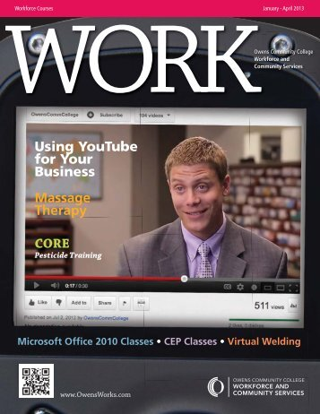Massage Therapy Using YouTube for Your Business CORE - Owens ...