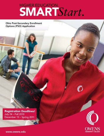 PSO application - Owens Community College