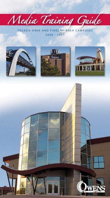 Media Training Guide - Owens Community College